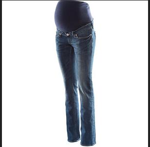 H&M 'Mama' Straight Leg Jeans