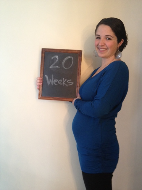 20 weeks - halfway to the finish (starting?) line