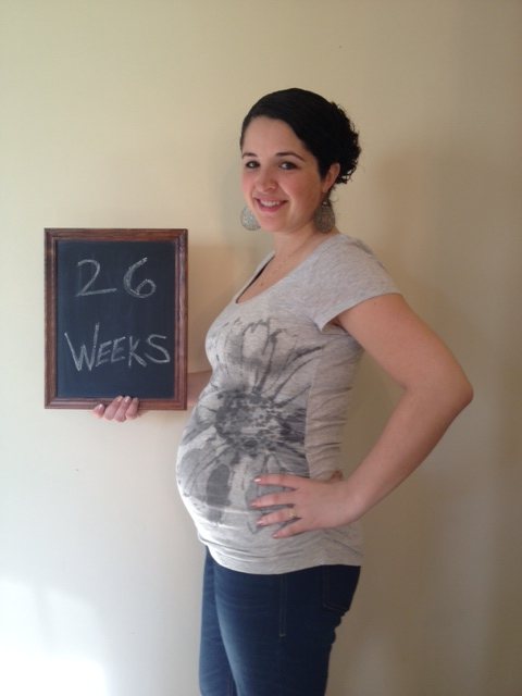 26 weeks - baby is almost 2 pounds!