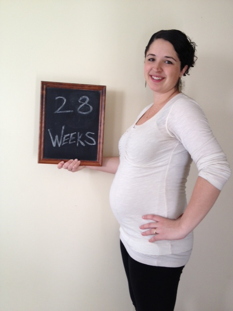28 weeks...only 12 weeks to go!