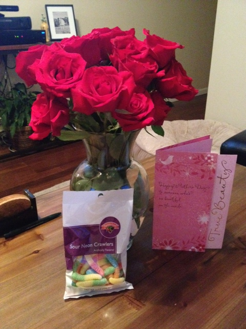 My First (almost) Mother's Day