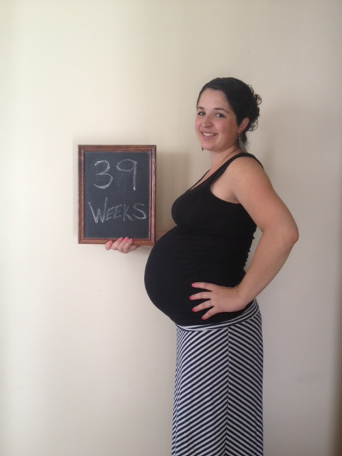 39 weeks and ready to be DONE