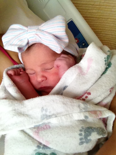 "Mia Rose Richards (7lbs, 9oz - 21"" long)"