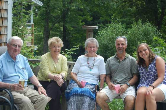 We hung out with grandparents, and great grandparents.
