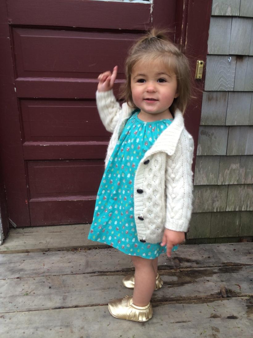 Mia in Gap Dress