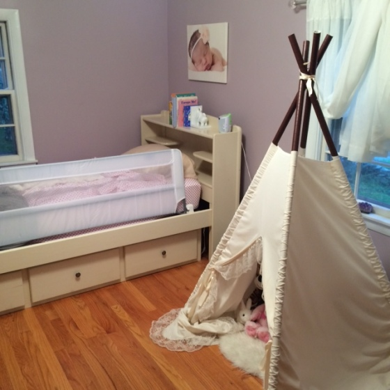Mia's Big Girl Room