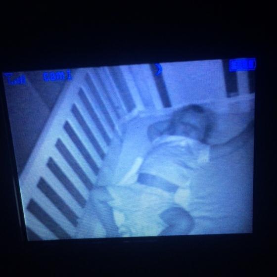 Sleeping in Crib