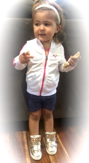 Mia Before Gymnastics Class