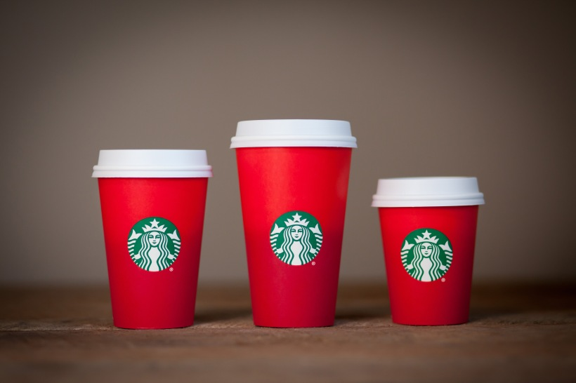 Starbucks' 2015 Holiday Cups