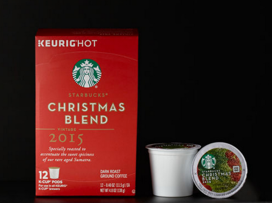 Starbucks Christmas Blend Coffee