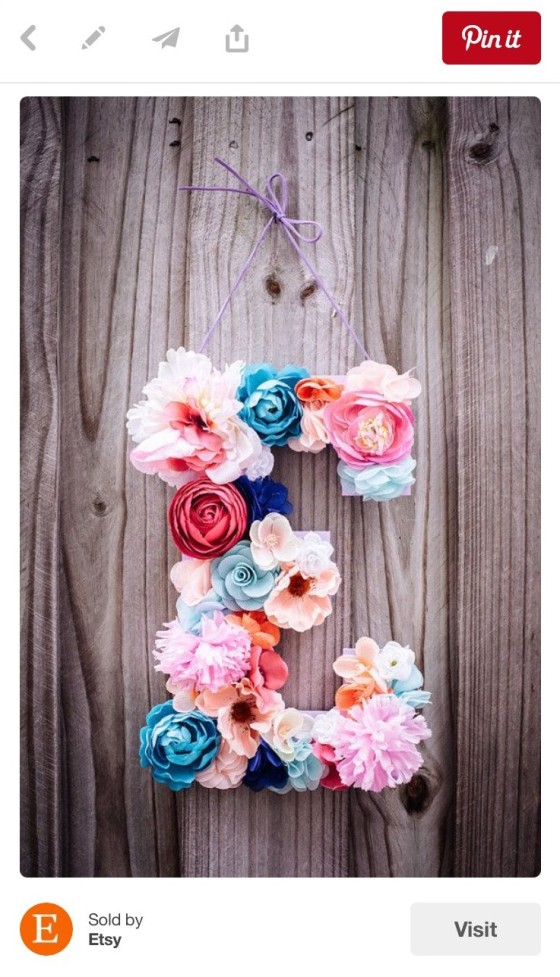 Etsy Wall Letter